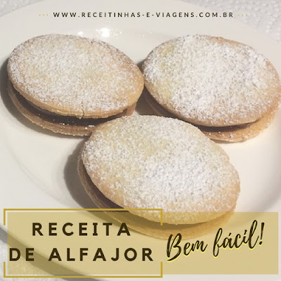 Receita de alfajor facil
