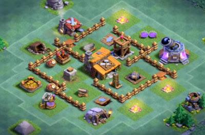Base Aula Tukang Level 3 Clash Of Clans