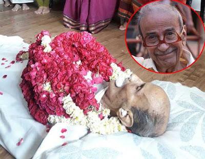 भारतीय हास्य लेखक और प्ले राइटर 'तारक मेहता' का निधन