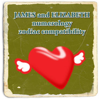 JAMES and ELIZABETH  Love Compatibility by First name