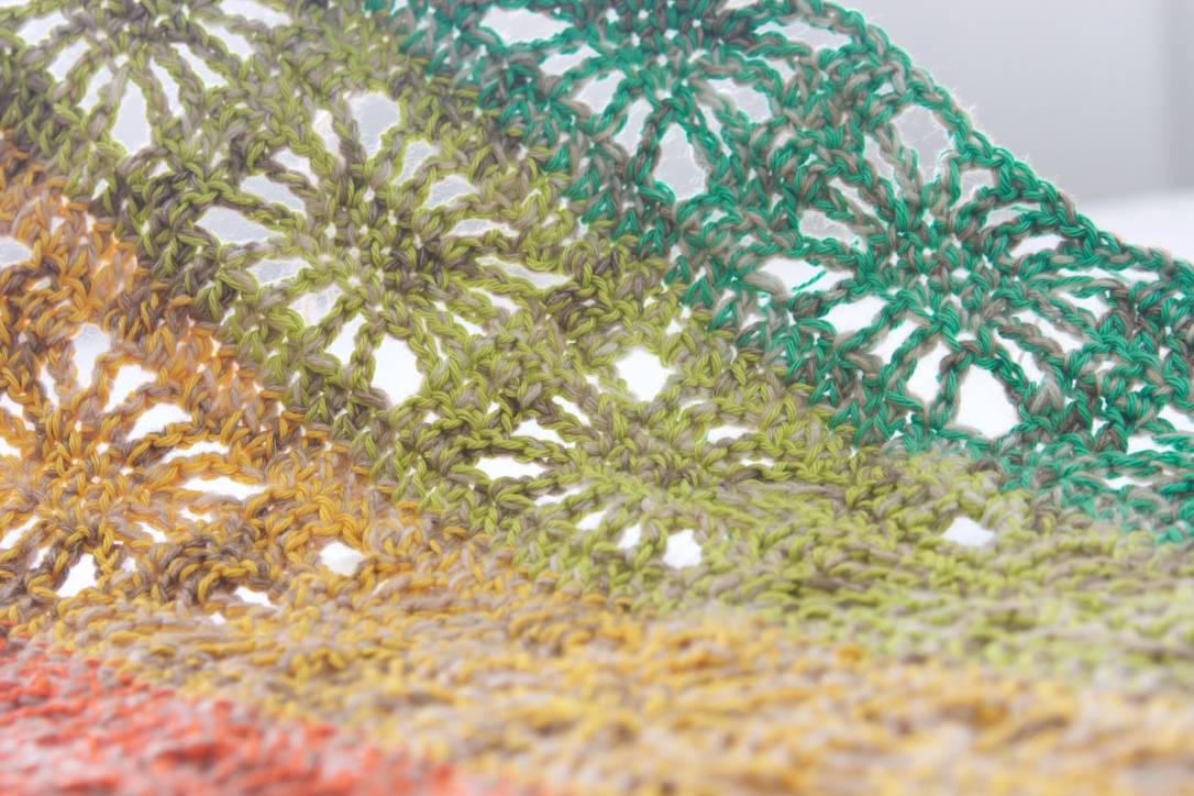 Rainbow Spirit Work In Progress On My New Free Crochet Pattern