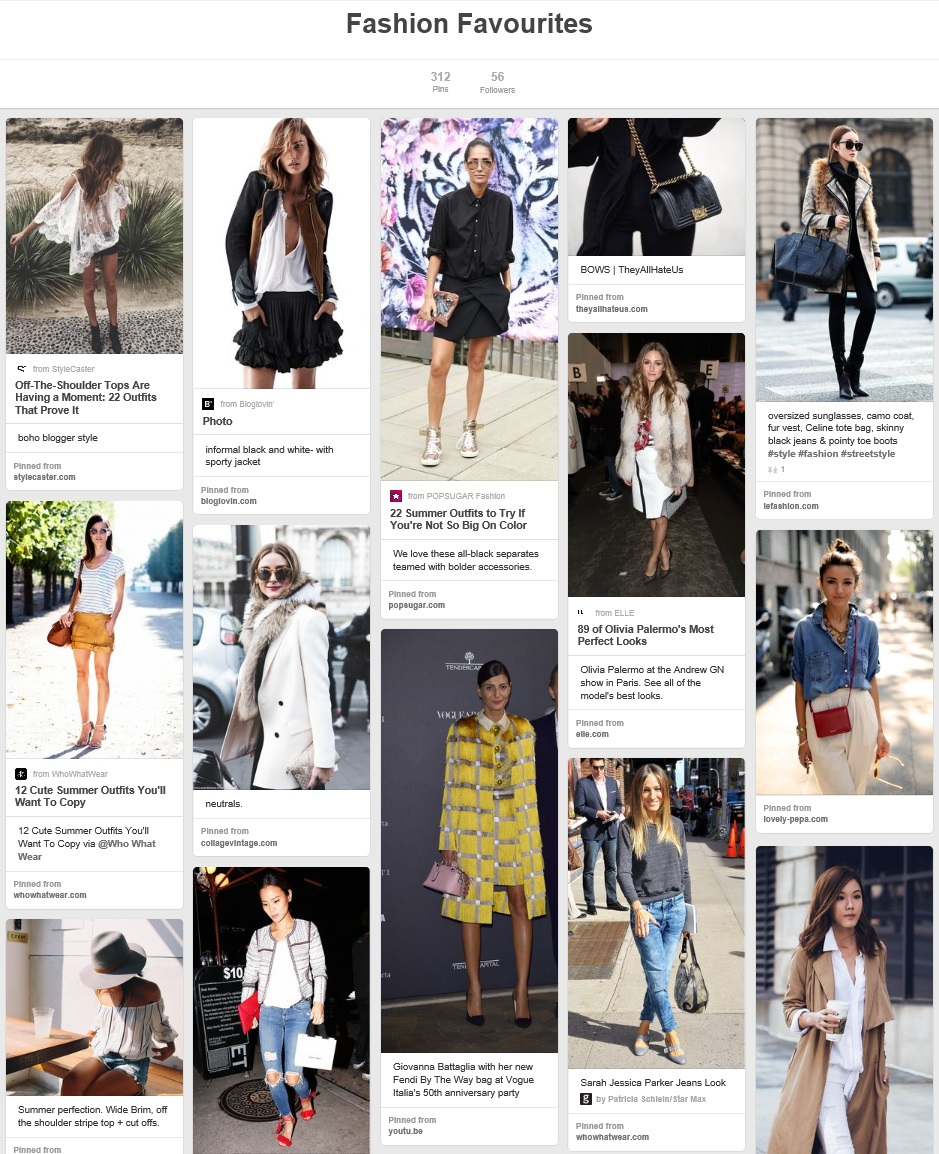 kristjaana mere pinterest fashion board