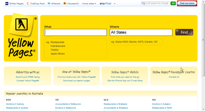 The Emails Marketing Lab: Yellow Page Data Extractor