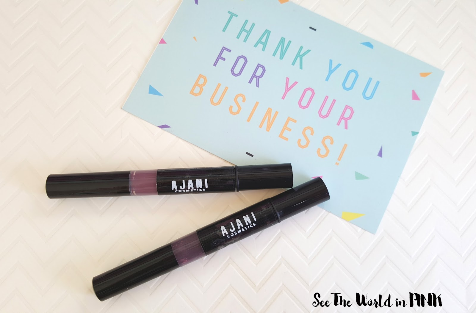 Ajani Cosmetics soft matte lipstick review