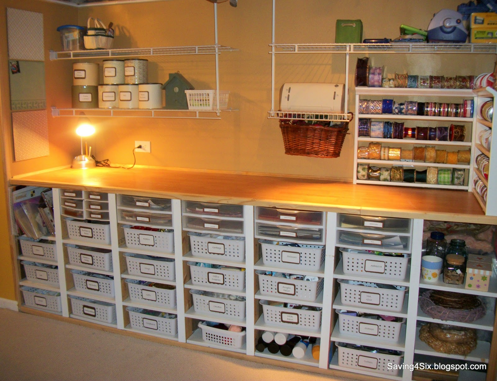 Storage For Craft Room: Organizing Challenge Week 3