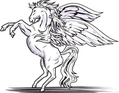 flying horse coloring pages - dante 39 s wardrobe video mechanical flying horse