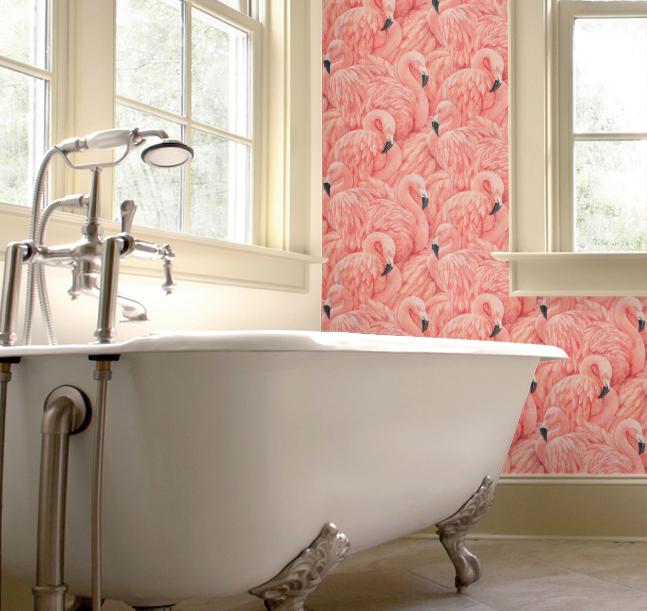 Flamingos in the Bathroom! - Emily May