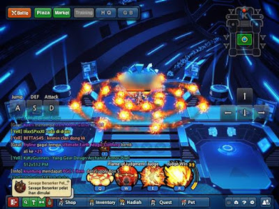 Zeta 7 VersiMalam (nonTable) Lost Saga Cheat NoDelay, Kebal, Unl HP, Kebal,Token Perunggu, DLL