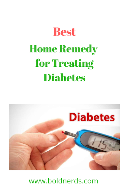 Natural Home Remedy for Treating Diabetes