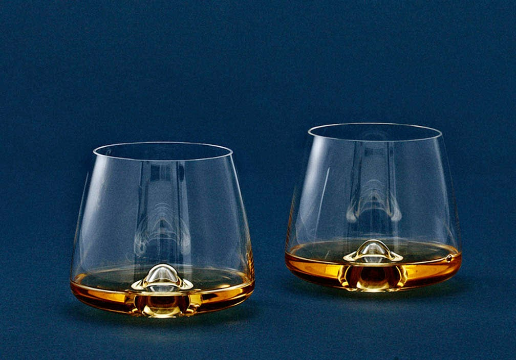 Glassware, Wine And Bar Collection Stemless Whiskey Glass