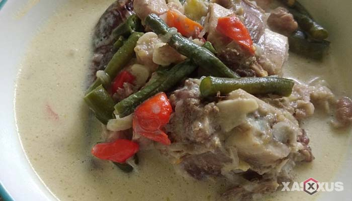 Resep sayur lodeh lombok tempe khas Jogja