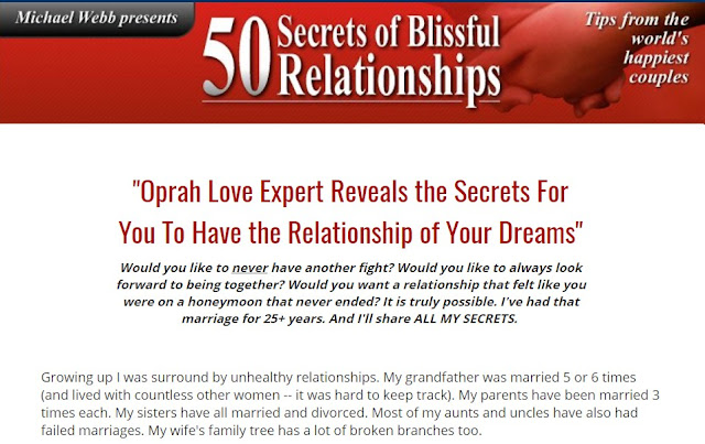 50 Secrets Of Blissful Relationships.