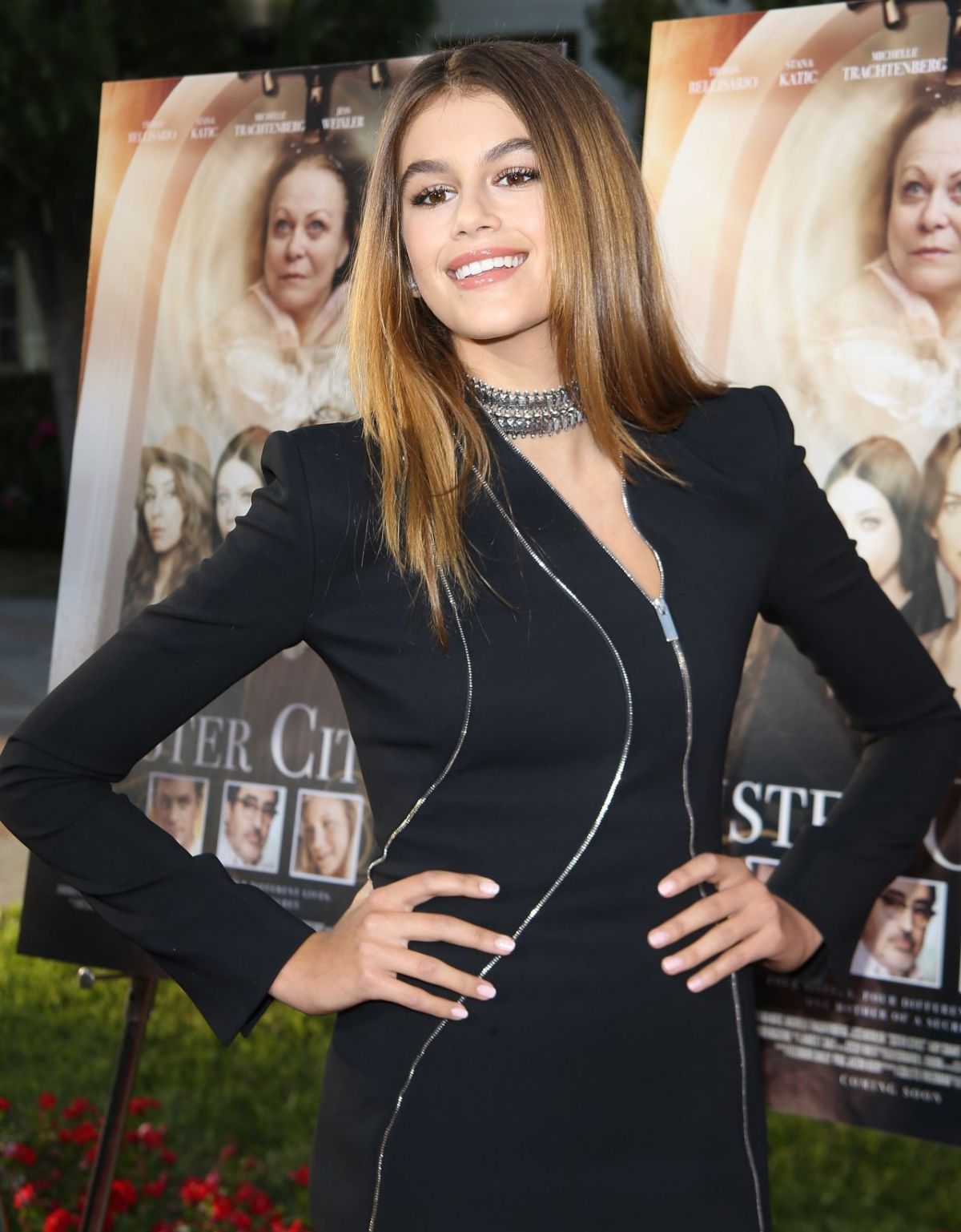 4K Photos of Kaia Gerber at Sister Cities Los Angeles Premiere