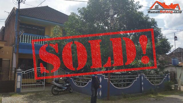 rumah luas di sulfat dijual murah