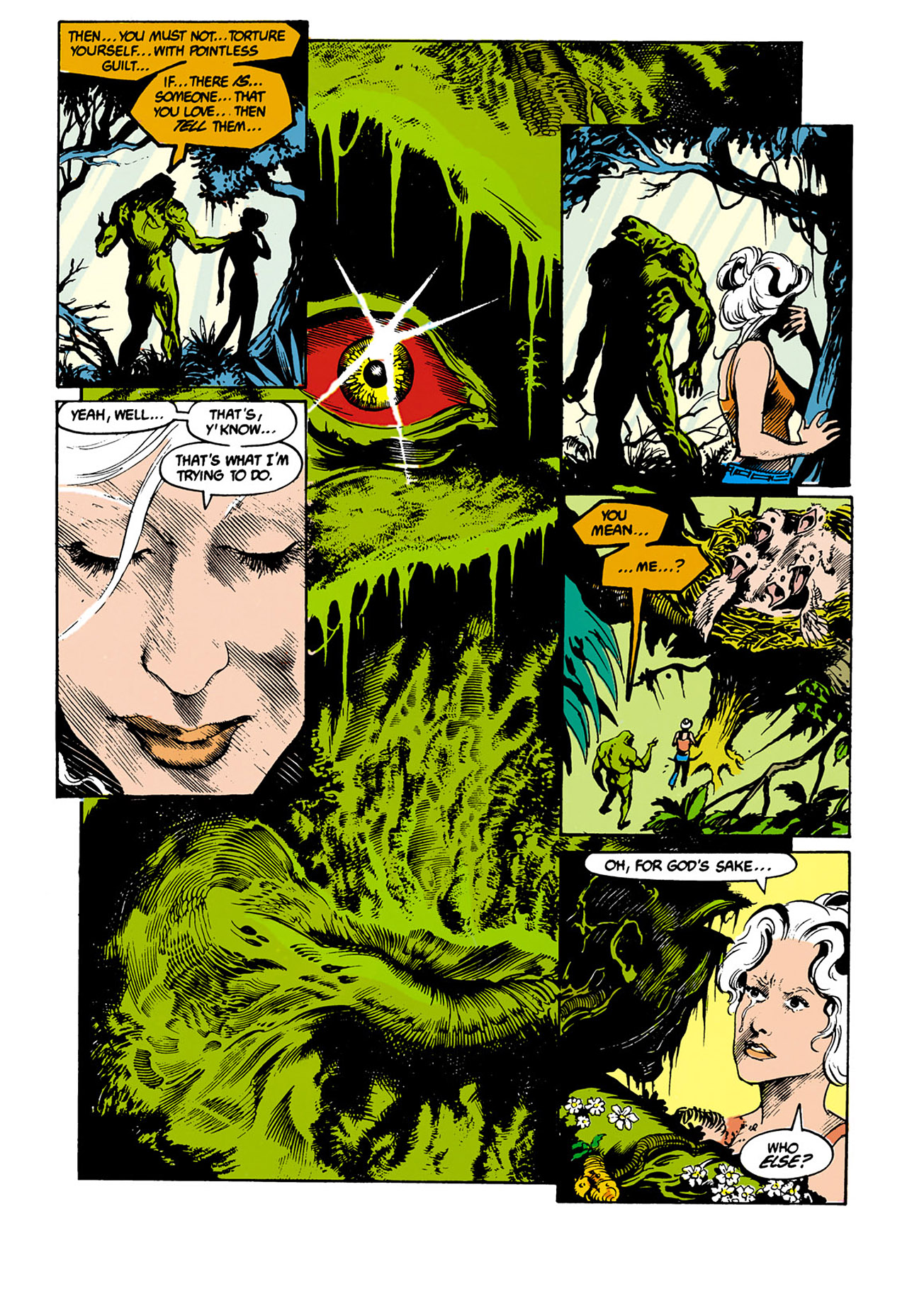 Swamp Thing (1982) Issue #34 #42 - English 6