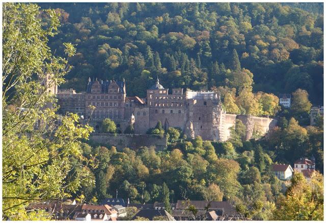 Castelo de Heidelberg visto do Philosophenweg