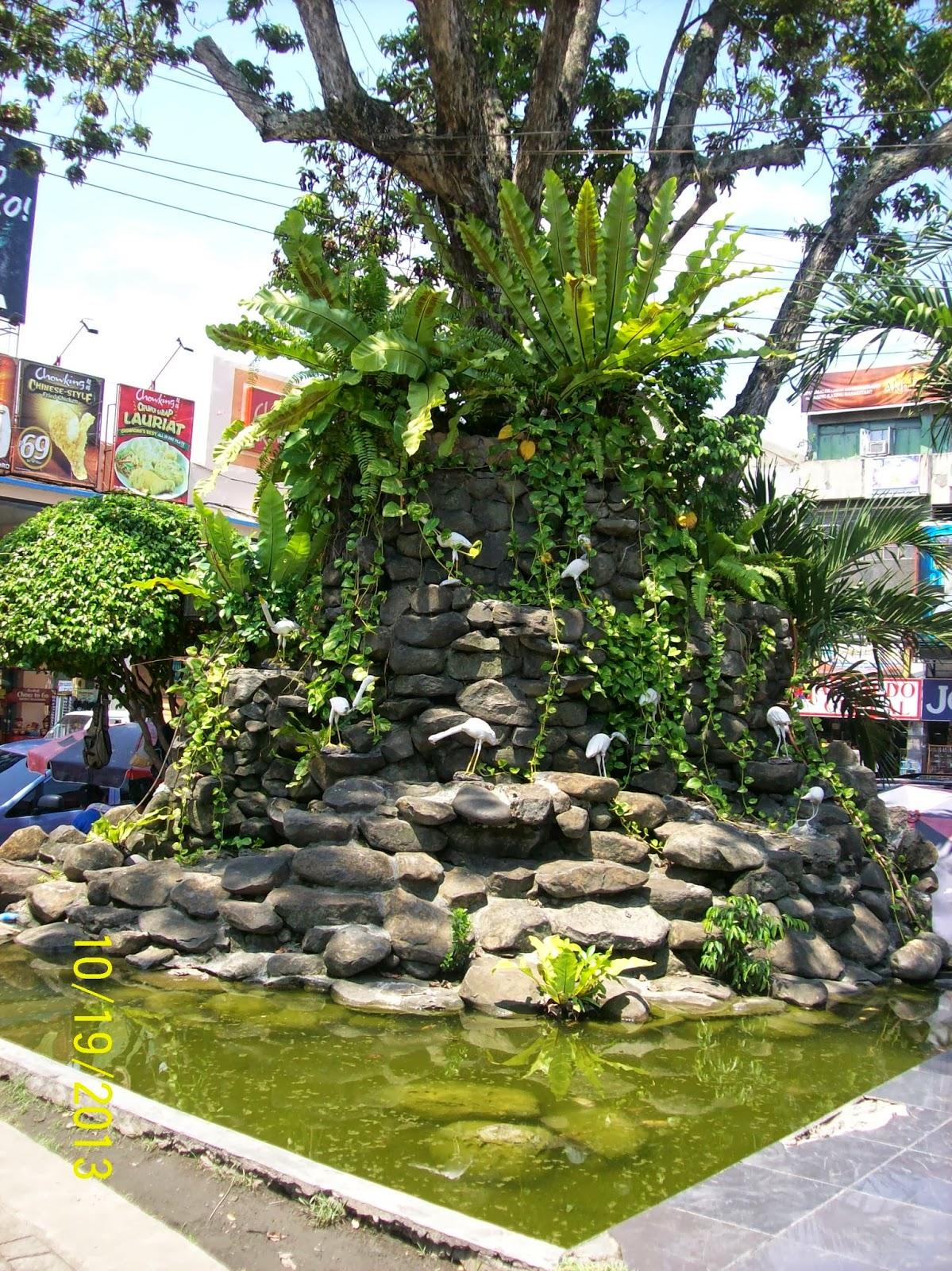 Quezon park all about davao city for Koi pond quezon city