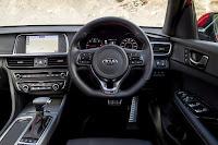 Kia Optima Sportswagon GT-Line S (2017) Dashboard