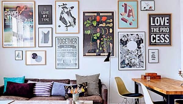 Deco el estilo hipster tambi n en decoraci n decoraci n - Ideas decoracion paredes salon ...