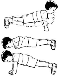Gerakan push up