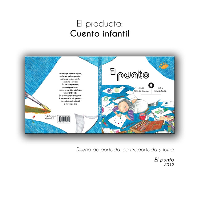 el punto, the dot, illustration, project, version, book, libro, niños, children