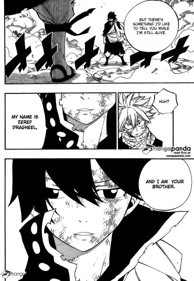 Fairy Tail Ch 465: 400 Years