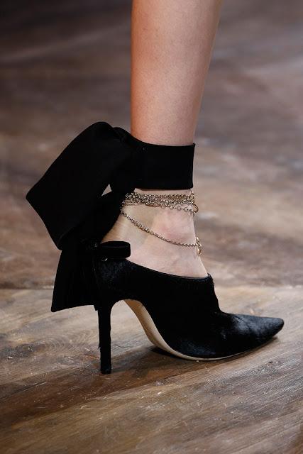 Christian Dior Alta Costura SS 2016 tobillera o jorca