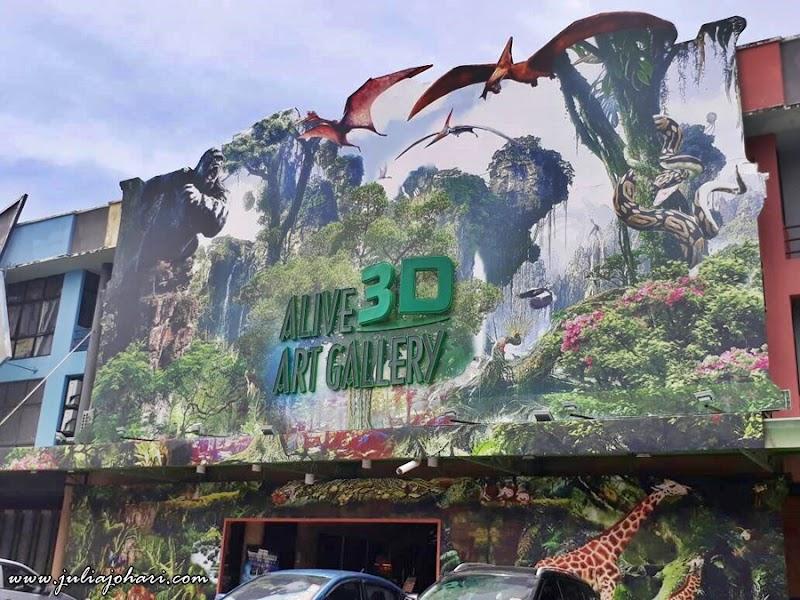Alive 3D Art Gallery Port Dickson Tempat Menarik Selfie Sampai Pengsan !