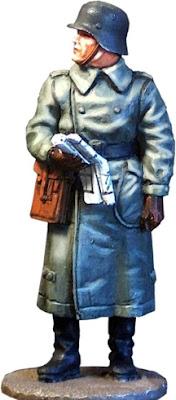 figura escala 1/30 pintada oficial aleman 1940