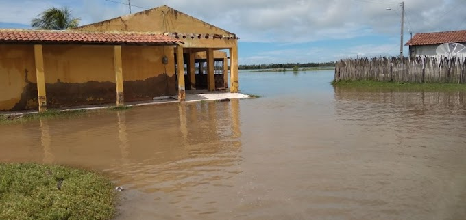 Com 255 mm, Icapuí tem maior chuva em 30 anos