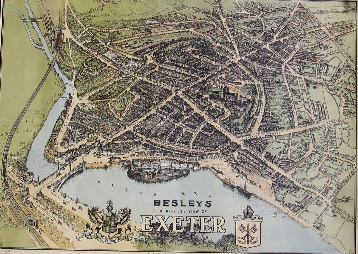 Exeter Working Papers in Book History Exeter maps
