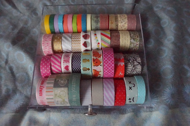 Washi Tape Collection, Paperchase, Ikea, The Works, Poundworld
