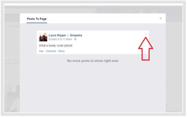 Delete a facebook post arkanpost delete a facebook post ccuart Image collections