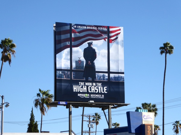 Man in the High Castle Amazon series billboard
