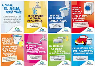 Hábitos para el ahorro de agua