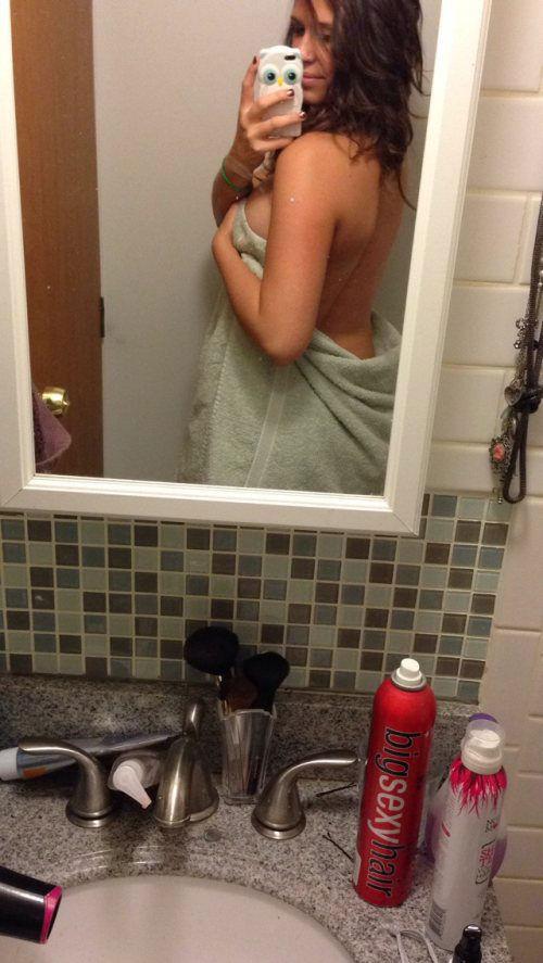 Фото домашних девушек в ванной — 12