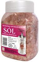 różowa sól kłodawska