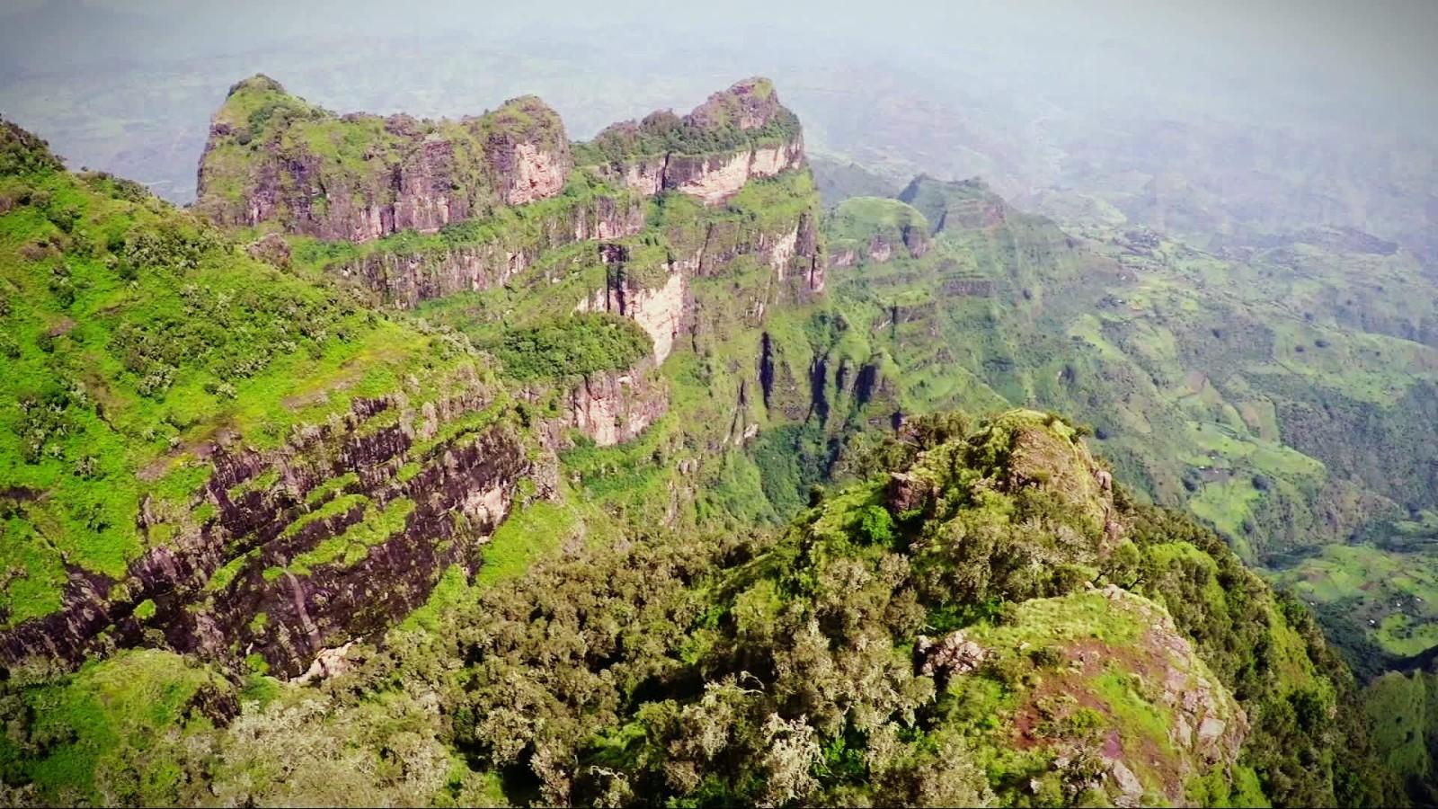 Belas Paisagens da Etiópia