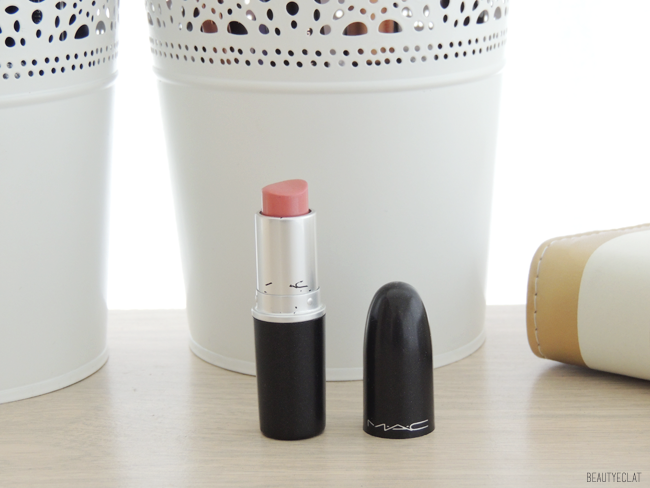 collection rouges a levres mac swatchs swatch peach blossom