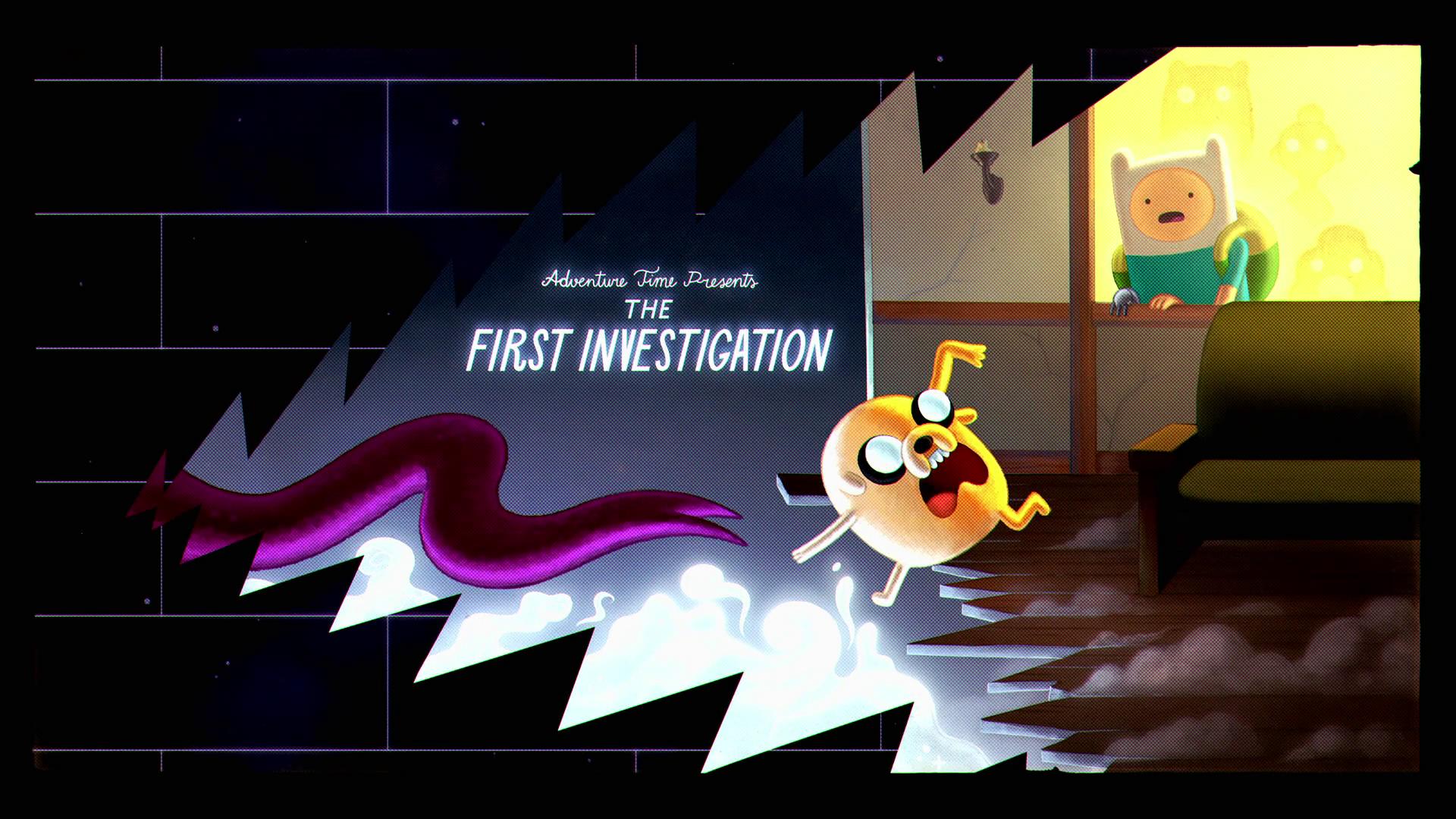 Hora de Aventura - A Primeira Investigação