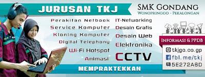 Poster TKJ SMK G Pekalongan Wonopringgo Gondang