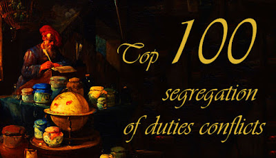The 100 most critical and common segregation of duties conflicts in SAP Hernan Huwyler