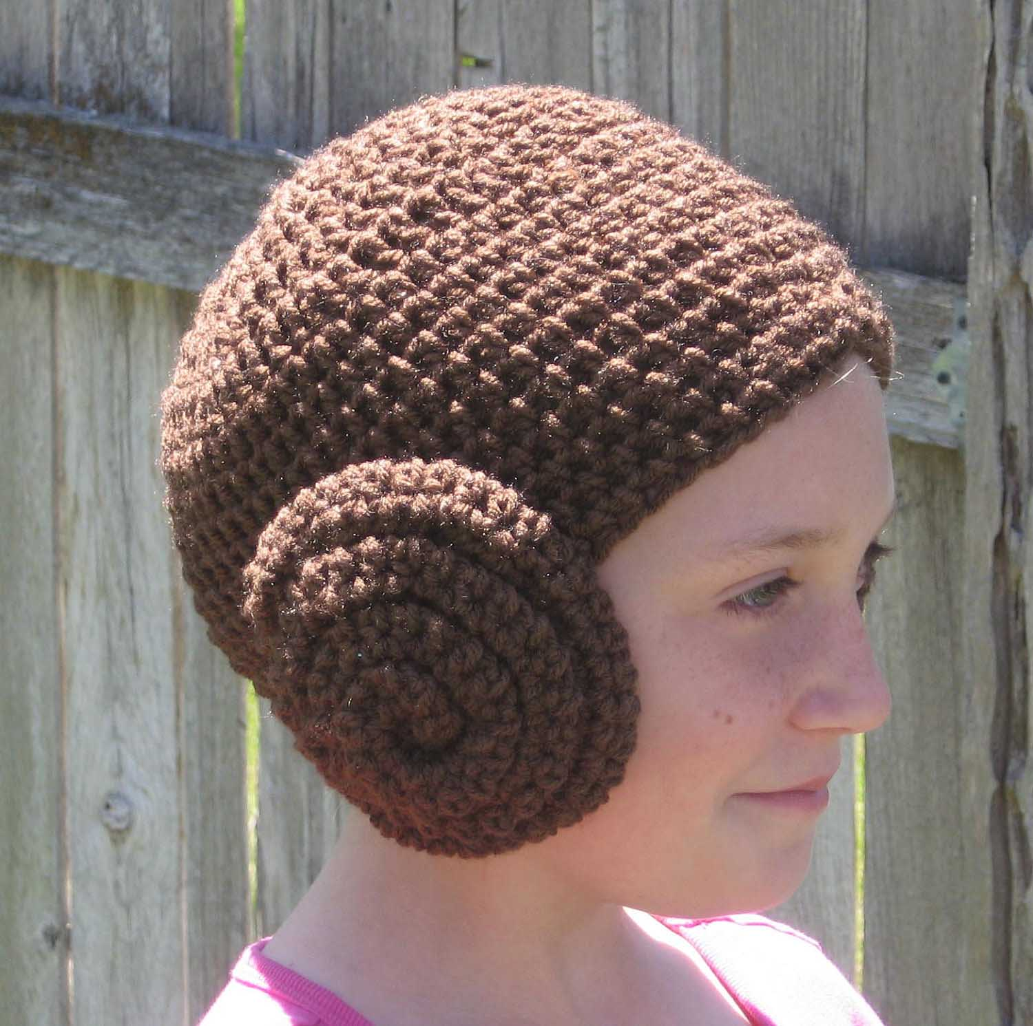 Princess Leia Hair Headphone Covers 1121f245892