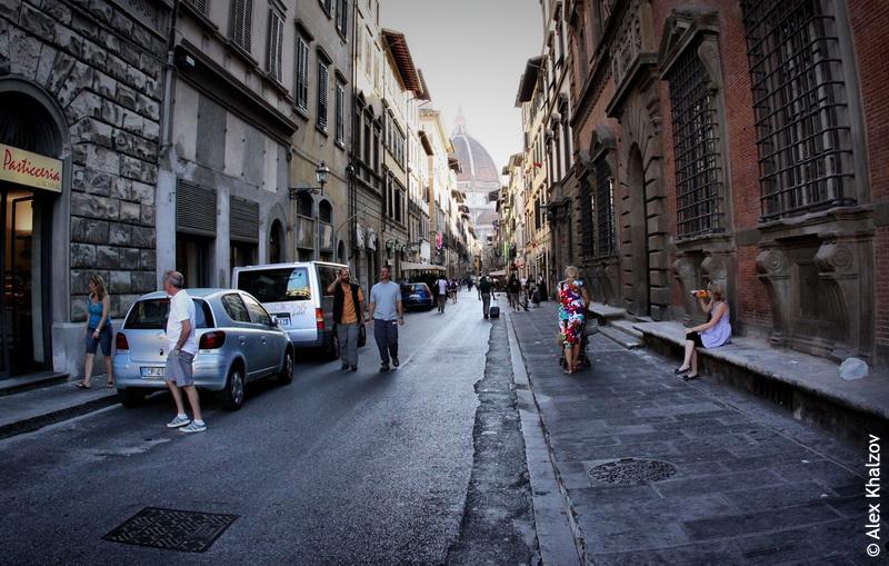 улица во флоренции