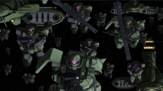 Capítulo Battle Of Loum (Loum Hen) de Mobile Suit Gundam THE ORIGIN