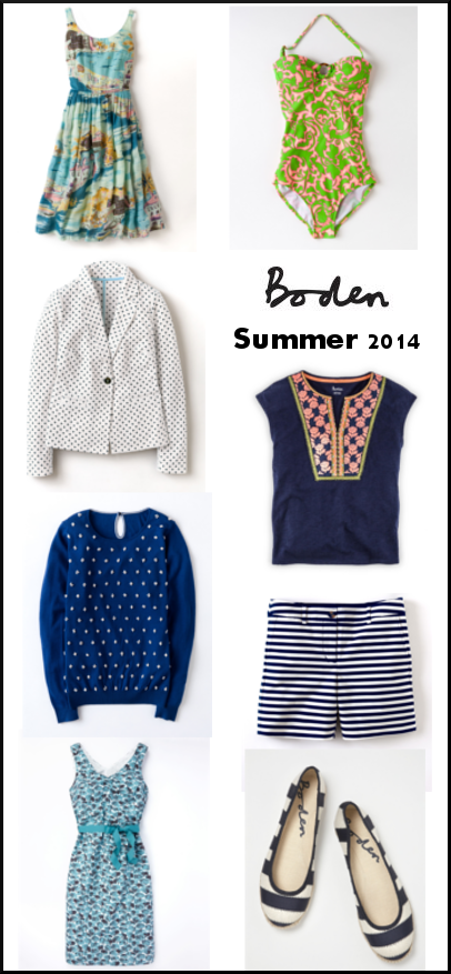Nautical by Nature | Boden Spring Summer 2014