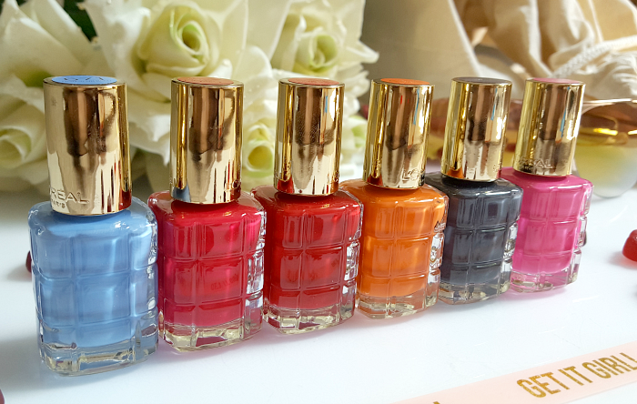 L´Oréal Paris - Color Riche Le Vernis L´Huile  Nagellacke - Neue Sommer Farben 2