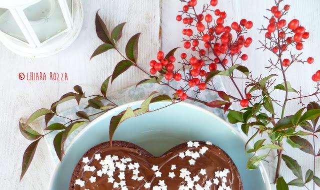 Torta vegana con cioccolato e cocco