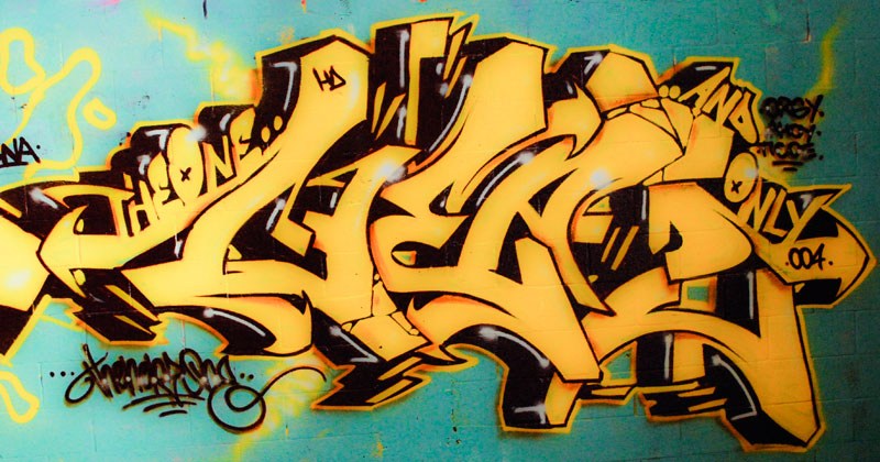Graffiti Wallpapers Miami Yellow Graffiti Hd Letters