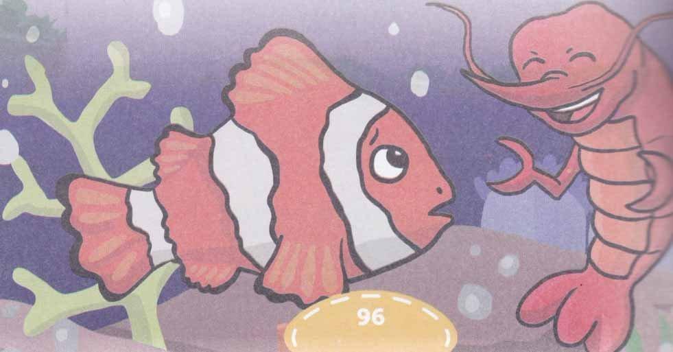 cerita ikan badut yang pintar dan udang yang bodoh